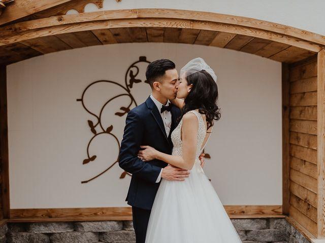 The wedding of Felicia and Jeff