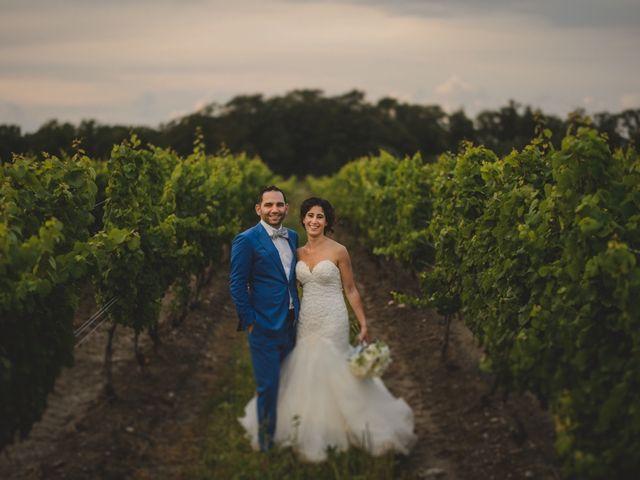 The wedding of Taryn and Eli