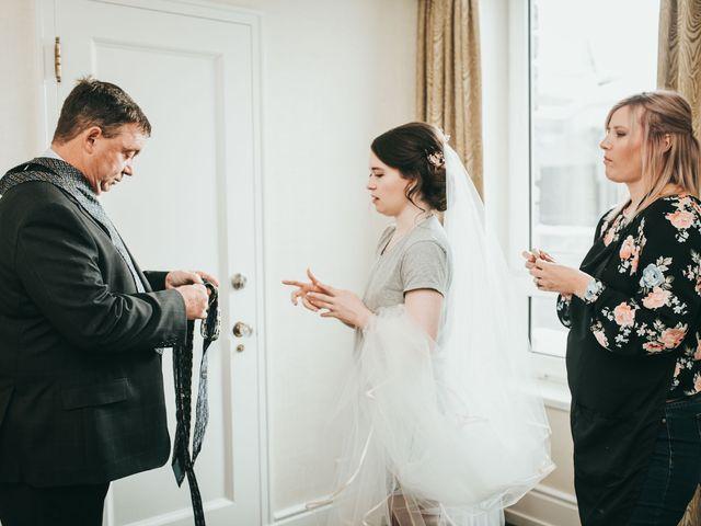 Cortland and Amanda's wedding in Banff, Alberta 17