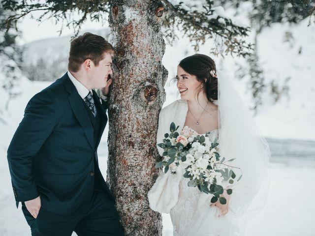 Cortland and Amanda's wedding in Banff, Alberta 37