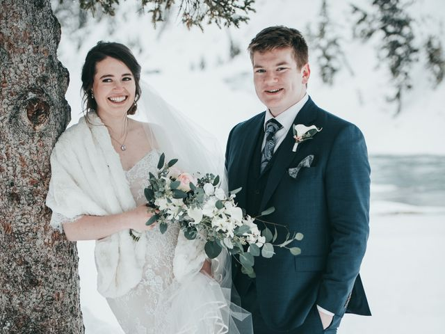 Cortland and Amanda's wedding in Banff, Alberta 38