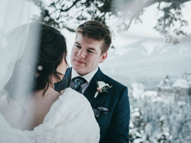 Cortland and Amanda's wedding in Banff, Alberta 39