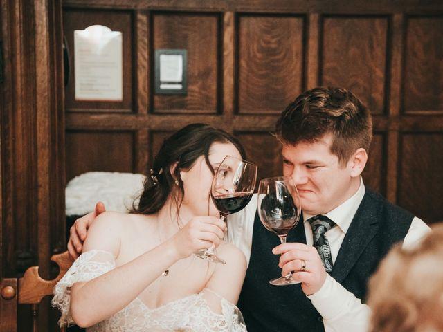 Cortland and Amanda's wedding in Banff, Alberta 46
