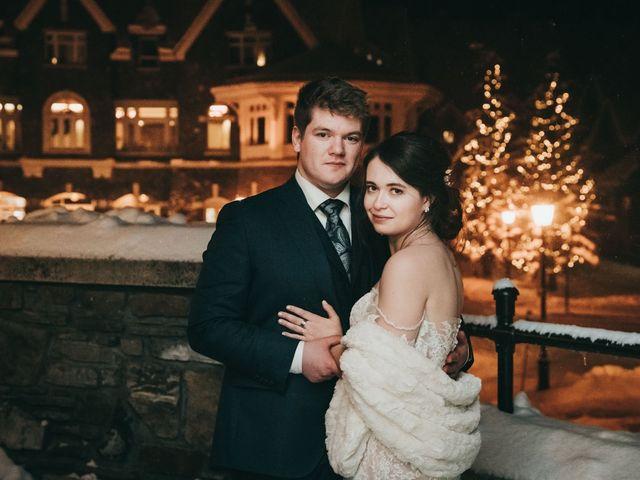 Cortland and Amanda's wedding in Banff, Alberta 51