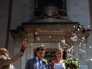 The wedding of Sophie and Jack