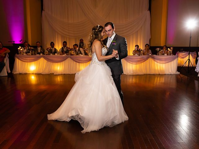 The wedding of Carrina and Dylan