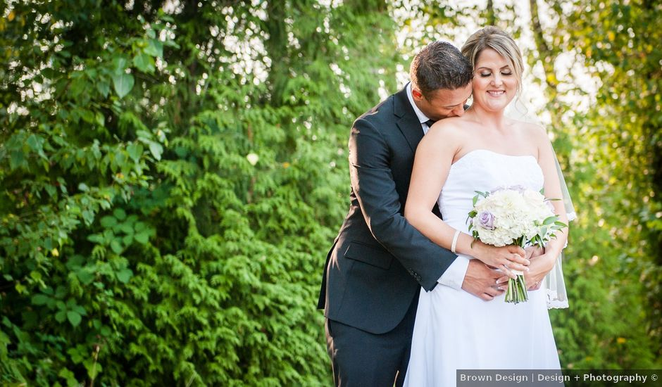 Matt and Jackie's wedding in Langley, British Columbia