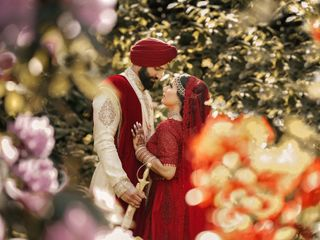 The wedding of Jag and Gurpreet