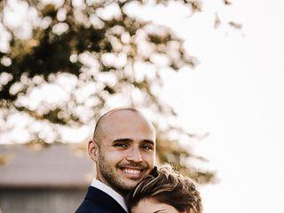 The wedding of Sara and Justin 1
