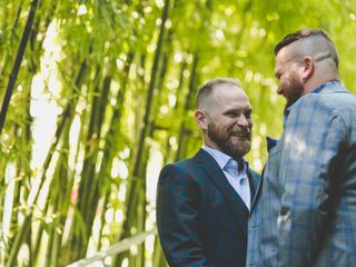 The wedding of Wylie and Dan 2