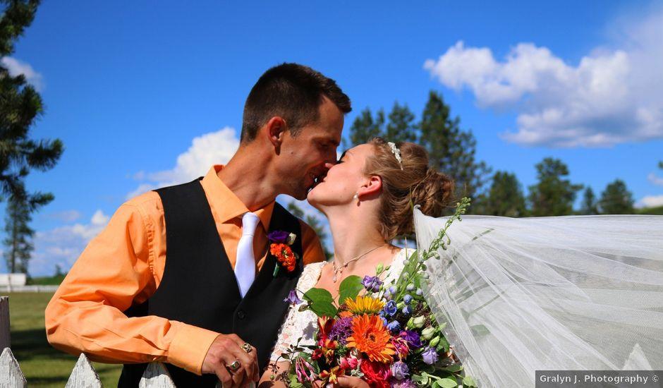 Tyson and Tamra's wedding in Vernon, British Columbia