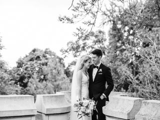 The wedding of Danielle and Chris