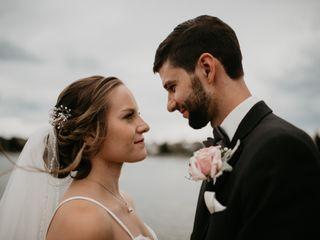 The wedding of Sadie and James