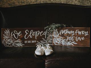 The wedding of Sydne and Graham 1