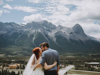 The wedding of Sydne and Graham
