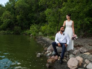 The wedding of Bobby and Kim