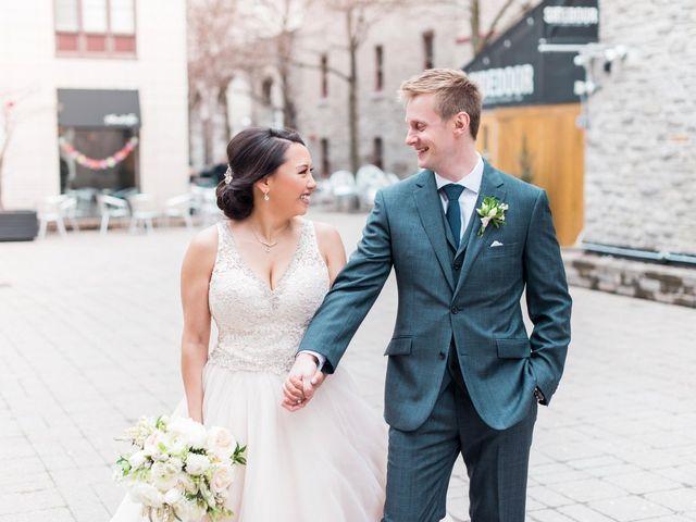 The wedding of Celina and Matt