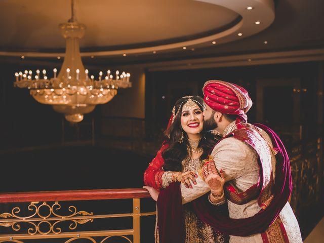 The wedding of Khadeeja and Ahmad