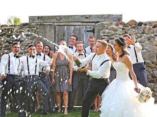 The wedding of Hunter and Monika 3