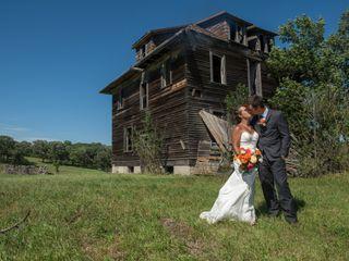 The wedding of Mitch and Natasha