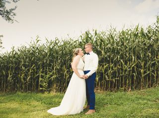 The wedding of Adrienne and Quinton