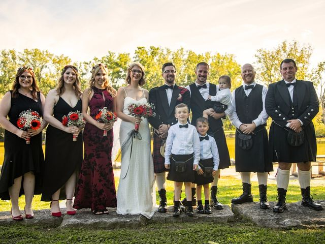Kameron and Cora's wedding in Windsor, Ontario 13