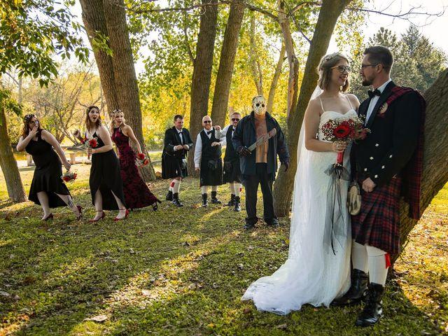 Kameron and Cora's wedding in Windsor, Ontario 14