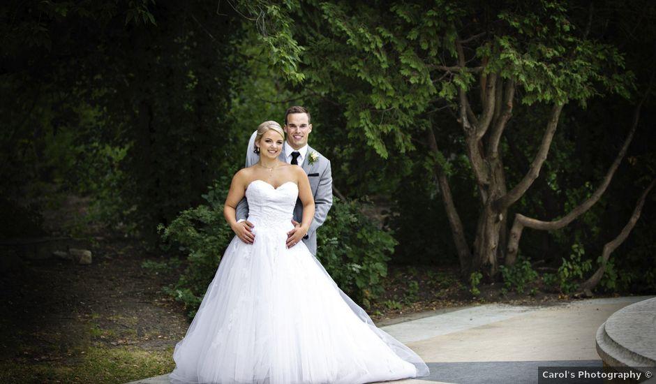 Kyan and Amanda's wedding in Regina, Saskatchewan