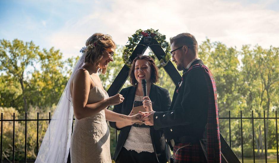 Kameron and Cora's wedding in Windsor, Ontario