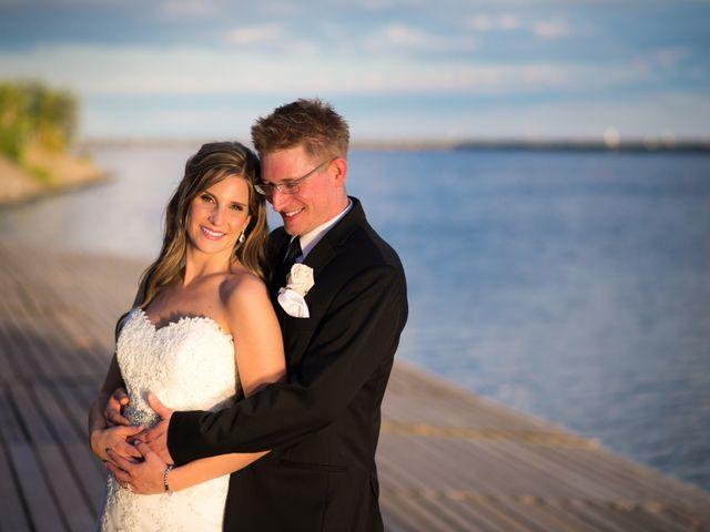 The wedding of Kara and Greg