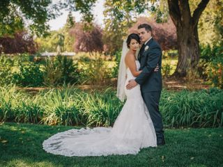 The wedding of Tia and Jesse