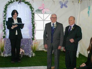 The wedding of Maureen and Ian 2