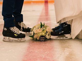 The wedding of Shandra and Sheldon 1