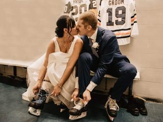 The wedding of Shandra and Sheldon
