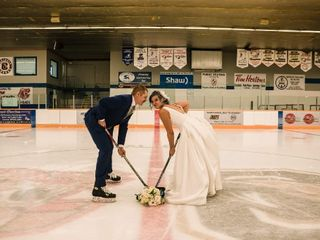 The wedding of Shandra and Sheldon 3