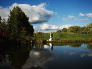 The wedding of Court and Kiersten