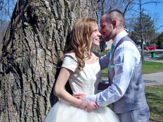 The wedding of Nicole and Kakisa