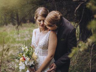 The wedding of Benjamin and Carolyn