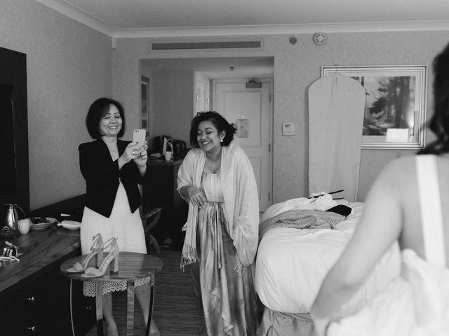 Gabriel and Margarita's wedding in Vancouver, British Columbia 8