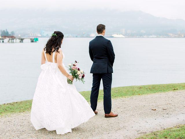 Gabriel and Margarita's wedding in Vancouver, British Columbia 15