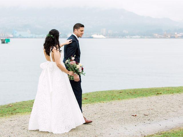 Gabriel and Margarita's wedding in Vancouver, British Columbia 17