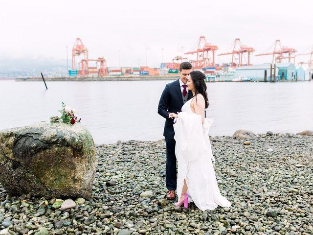 Gabriel and Margarita's wedding in Vancouver, British Columbia 21