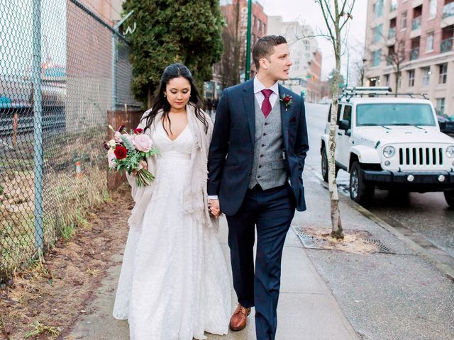 Gabriel and Margarita's wedding in Vancouver, British Columbia 36