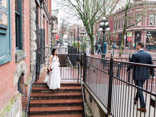 Gabriel and Margarita's wedding in Vancouver, British Columbia 42
