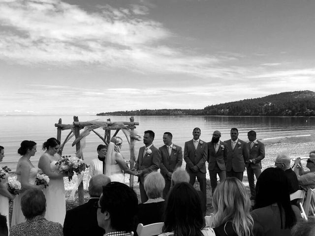 Vince and Kathy's wedding in Victoria, British Columbia 1