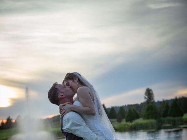 Dallyn and Cristina's wedding in Burnaby, British Columbia 7