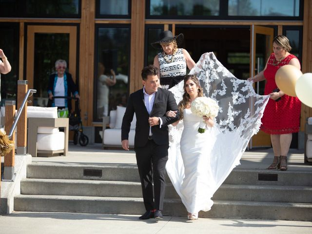 Dallyn and Cristina's wedding in Burnaby, British Columbia 9