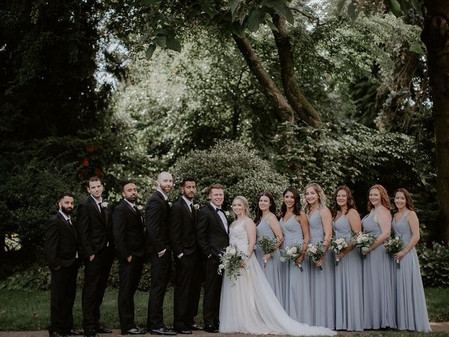 Adam and Caitlind's wedding in New Westminster, British Columbia 2