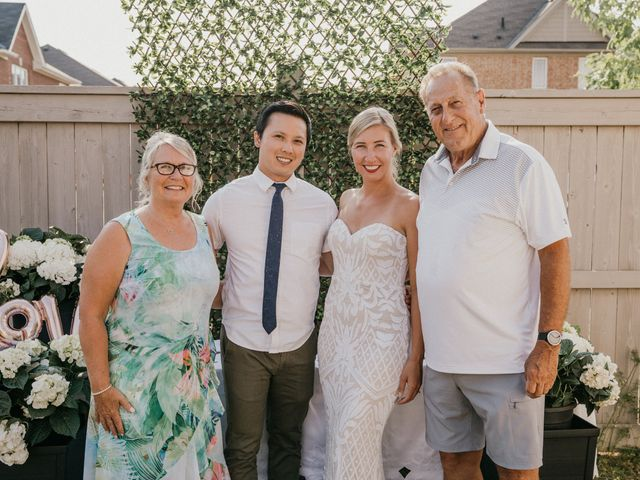 Will and Dayna's wedding in Keswick, Ontario 22