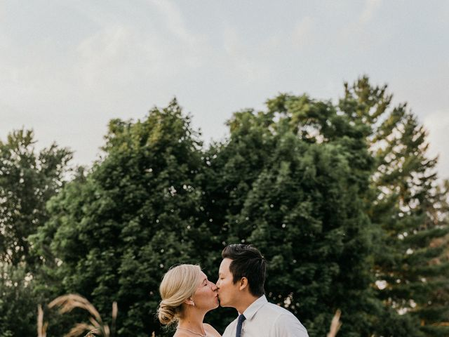 Will and Dayna's wedding in Keswick, Ontario 1